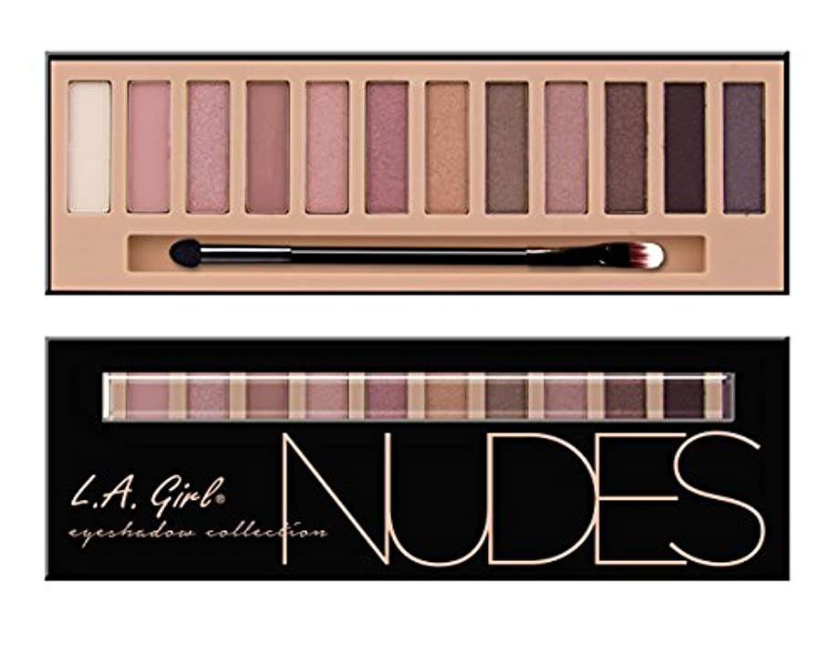 ペルーにおい聞きます(3 Pack) LA GIRL Beauty Brick Eyeshadow Collection - Nudes (並行輸入品)
