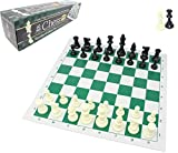 チェスジャパン スタンダードチェスセット ナショナル 43cm (グリーン, ヘビー) チェスジャパン(ChessJapan)