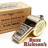 (バズリクソンズ)BUZZ RICKSON'S ホイッスル 笛 ミリタリー ブラス イギリス・ アクメ社製 ペンダントトップ ジップチャーム アクセサリー F03624 BR02374