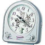 SEIKO CLOCK(セイコークロック) Disneyメロディ目覚まし時計(銀色) FD464S