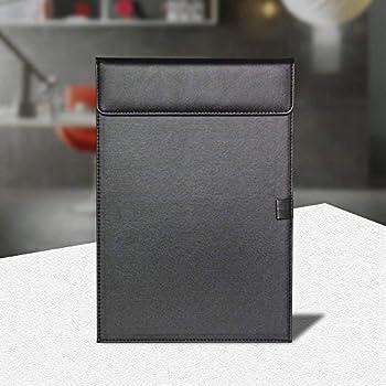 Amazon | クリップボード バインダー PUレザー マグネット式 ...