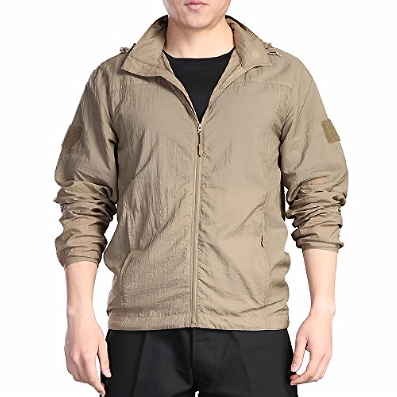 ナイロン戦術迷彩服、防風、日焼け止め、抗紫外線ケア衣、ローラー専用のアパレル、速乾性、軽く、発汗。