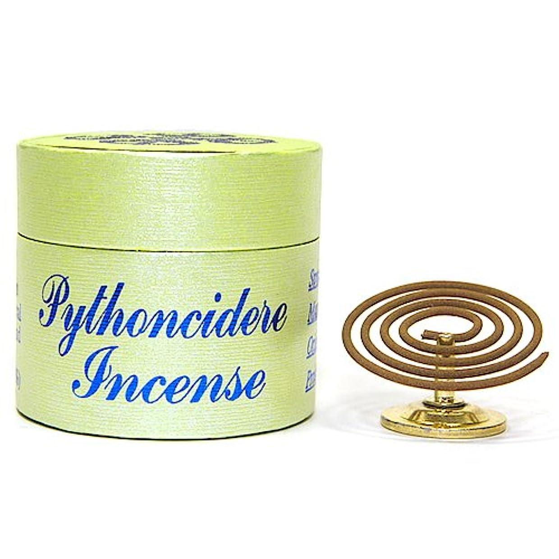請求書薄汚いコミット32ピース2時間Pythoncidere Incenseコイル – 100 % Natural – d002s
