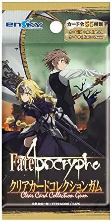 Fate/Apocrypha クリアカードコレクションガム[初回生産限定BOX購入 16個入 食玩・ガム(Fate)