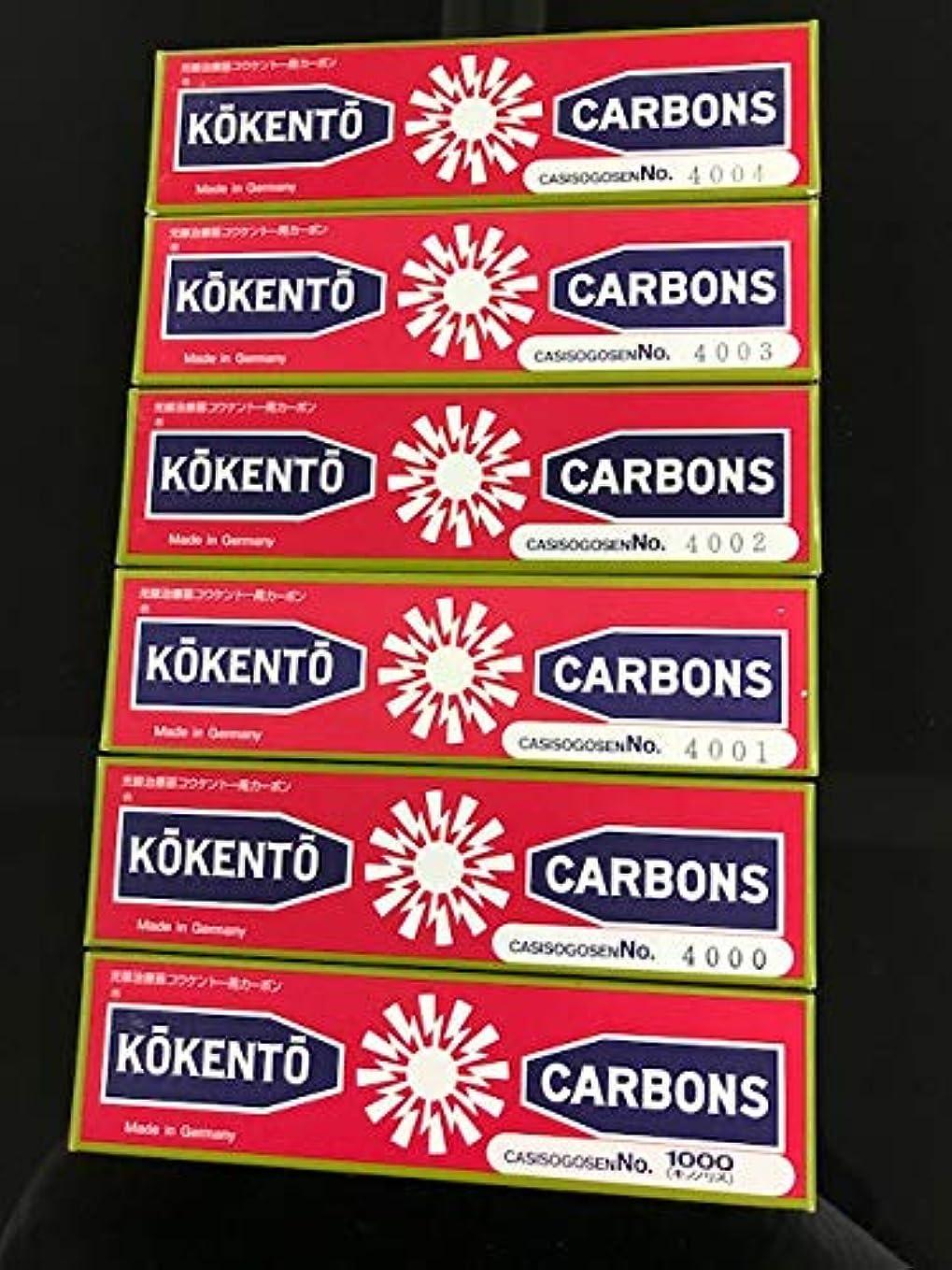 石炭疾患簡単にコウケントーカーボン No4000 10本