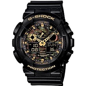 [カシオ]CASIO 腕時計 G-SHOCK Camouflage Dial Series  GA-100CF-1A9JF メンズ