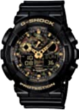 G-SHOCK ジーショック 腕時計 ウォッチ Gショック GA-100CF-1A9JF ブラック BLACK 黒 アナログ時計 デジタル時計 CASIO カシオ メンズ