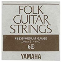 YAMAHA FS536 アコースティックギター用 バラ弦 6弦×6本