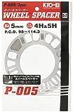 KYO-EI [ 協永産業 ] Wheel Spacer [ 5mm 4/5H ] PCD98-114.3 ...