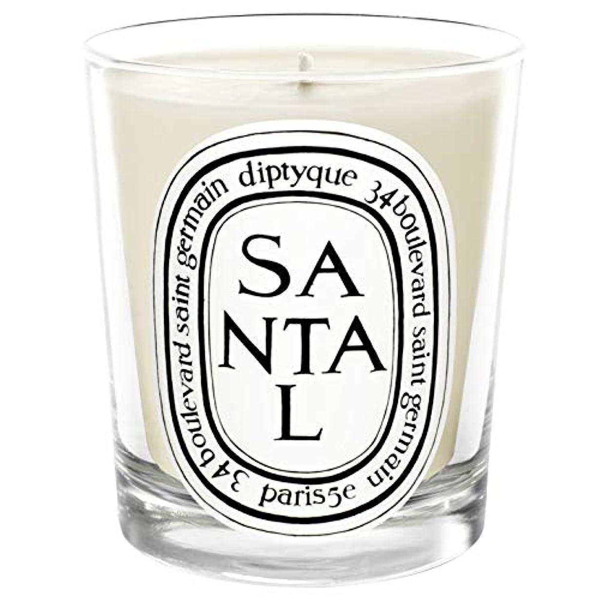 多分アヒルチャンピオンシップ[Diptyque] Diptyqueのサンタル香りのキャンドル190グラム - Diptyque Santal Scented Candle 190g [並行輸入品]