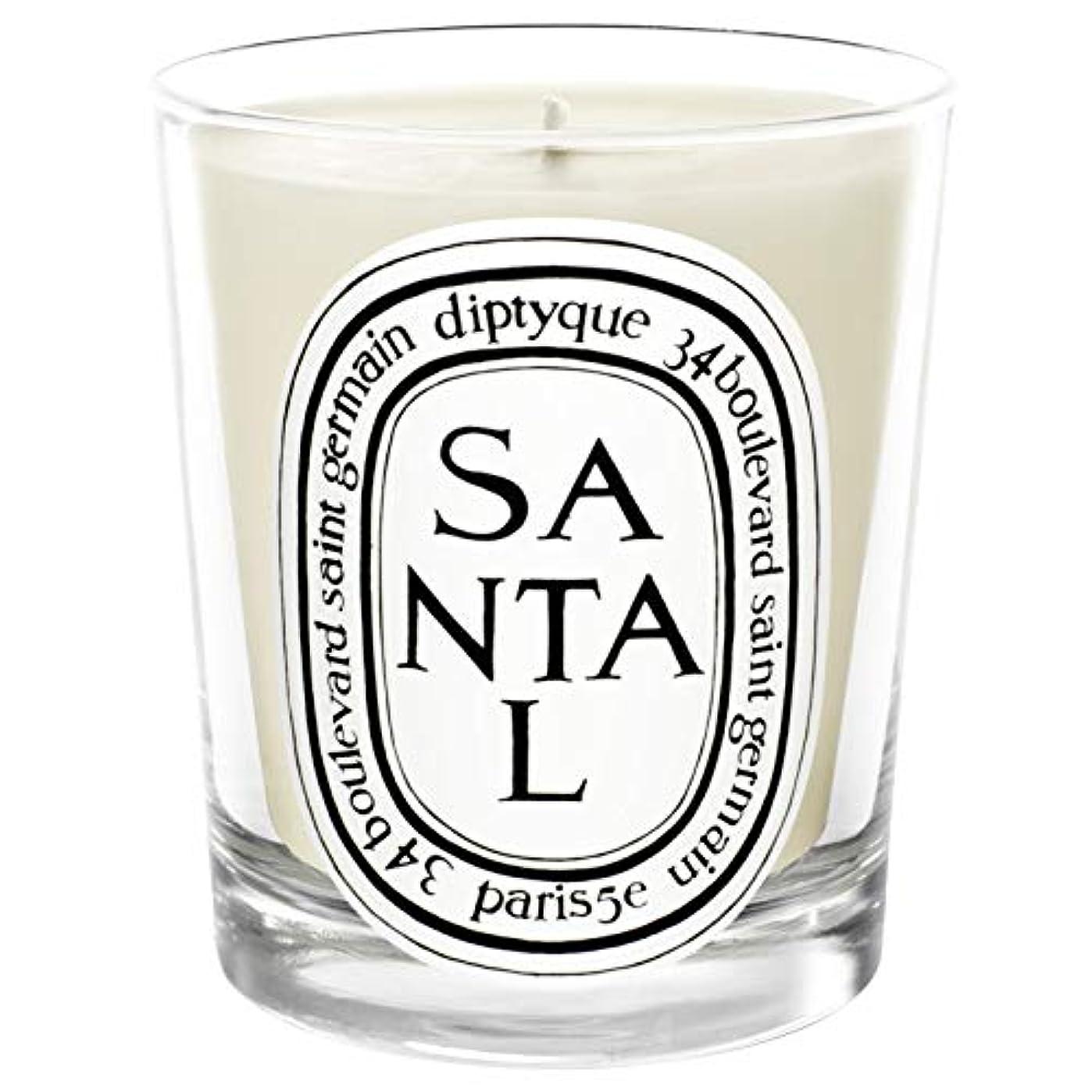 同行簡略化する統合する[Diptyque] Diptyqueのサンタル香りのキャンドル190グラム - Diptyque Santal Scented Candle 190g [並行輸入品]
