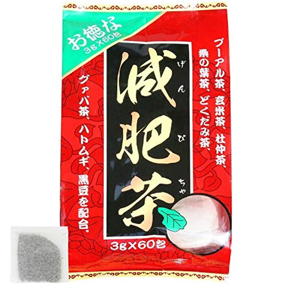 警告ハントインスタンスユウキ製薬 お徳な減肥茶 30-60日分 3g×60包
