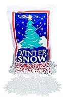 FloraCraft Plastic Snow (4 liter) and Snowflake Ornaments [並行輸入品]