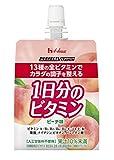 PERFECT VITAMIN 1日分のビタミンゼリー ピーチ味 180g×24袋
