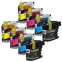 """LC117XL(BK/ブラック)LC115XL(C/M/Y) -大容量 4色×2 合計8本 ブラザー用 互換 インクカートリッジ 残量表示付き APEX製の最新ICチップを採用 【互印製】 ISO14001、ISO9001及び国際品質規格""""STMC""""認証工場製造品"""