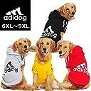 大型犬用【adidog】【アディドッグ】犬用 パーカー 犬服 ドッグウェア サイズ 6XL / 7XL / 8XL / 9XL 5カラー 9XL,グレー