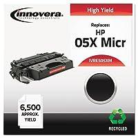 リサイクルce505X (M) (05X) Micrトナー、6500Yield,ブラック, Sold as 1Each