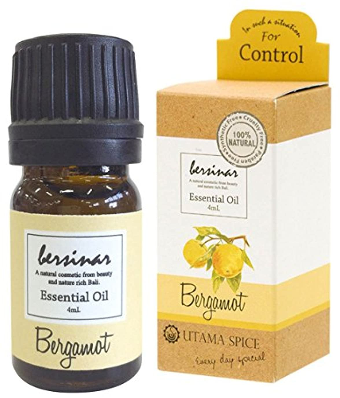 ノーブル転送ピークウタマスパイス アロマオイル ベルシナル ベルガモットの香り 4ml OE-UTO-1-6