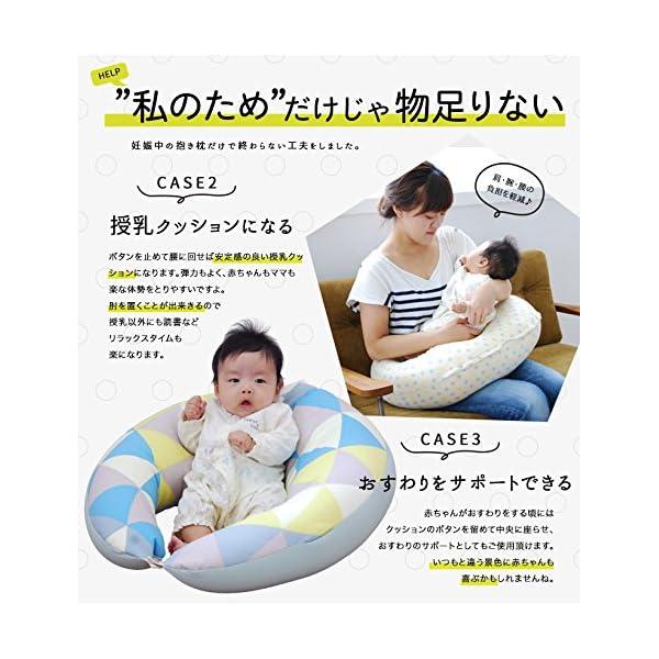 サンデシカ 妊婦さんのための 洗える抱き枕 ポ...の紹介画像4