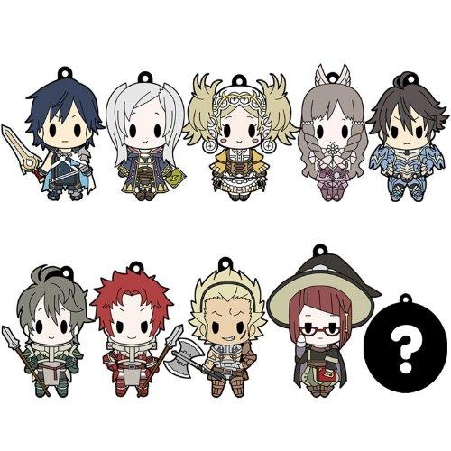 D4 ファイアーエムブレム 覚醒 ラバーキーホルダー all unit collection Vol.1 BOX