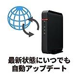BUFFALO WiFi 無線LAN ルーター WHR-1166DHP4 11ac 866+300Mbps 3LDK 2階建向け 【iPhoneX/iPhoneXSシリーズ/Echo メーカー動作確認済み】_05