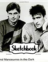 """Sketchbook: Orchestral Manoeuvres in the Dark OMD English Electronic Band Architecture & Morality (1981) Album, Large Notebook for Drawing, Doodling or Writting: 110 Pages, 8.5"""" x 11"""". Kraft Cover Notebook ( Blank Paper Drawing and Write Sketchbooks )"""