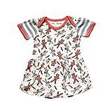 Cat & Dogma DRESS ベビー・ガールズ US サイズ: 6-12 Months カラー: オレンジ