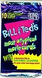 ビルとテッドの最もatypicalムービーカードパック