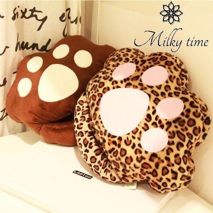 [milky time]フットウォーマー 猫 肉球 豹柄 USB 日本テレビ「ヒルナンデス!」でご紹介頂きました♪