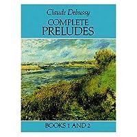 Alfred 06-259706 Complete Preludes- Books 1 & 2 - Music Book
