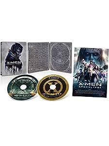 【Amazon.co.jp限定】X-MEN:アポカリプス 3D & 2D ブルーレイセット スチールブック仕様 (A3サイズポスター付き) [Blu-ray]