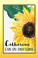 Catherine Can Do Anything: Personalized Success Affirmation Journal for Women