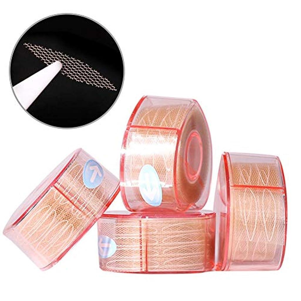 偽造セクタ平らなナチュラルアイテープ 二重まぶたステッカー 二重まぶたテープ 300組セット メッシュ 見えない バレない 通気性 アイメイク 4タイプ選べる junexi
