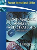Cover of Bond Markets, Analysis and Strategies