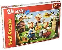 Trefl Three Little Pigsマキシジグソーパズル( 24ピース)