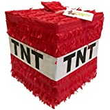 APINATA4U Cube TNT Pinata Red Colour