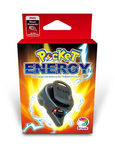 [포케몬Go Plus 전지]Pocket Energy 모바일 배터리 보호 씰 부착-