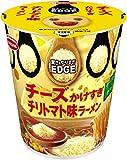 エースコック タテ型 EDGE チーズかけすぎチリトマト味ラーメン 75g×12個