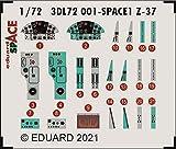 エデュアルド 1/72 スペース Z-37 チメラック 内装3Dデカール w/エッチングパーツセット (エデュアルド用) プラモデル用デカール EDU3DL72001