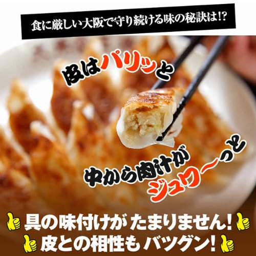 大阪王将 肉餃子 50個入 たれ×6袋付