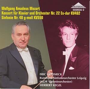 モーツァルト:ピアノ協奏曲第22番、交響曲第40番 (Mozart: Piano Concerto No.22, Symphony No.40)
