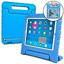 Cooper Cases DYNAMO こども用 ケース 【 iPad2 / iPad3 / iPad4 】 子供 軽量 無毒性EVA ハンドル 耐衝撃 (ブルー)