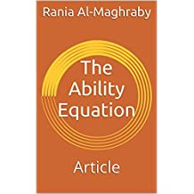 The Ability Equation: Article