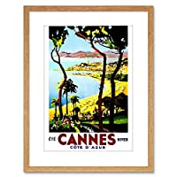 Travel Cannes France New Photo Framed Wall Art Print