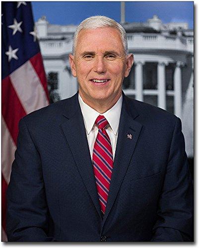 トランプ大統領Vice Mike Pence公式Portrait 16?x 20シルバーHalideフォト印刷