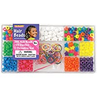 The Beadery Hair Beads Box, Neon by The Beadery
