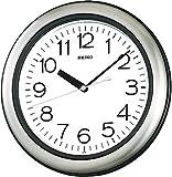 SEIKO CLOCK (セイコークロック) 掛け時計 アナログ 生活防水 強化防湿・防塵型 キッチン&バス 金属枠 KS463S