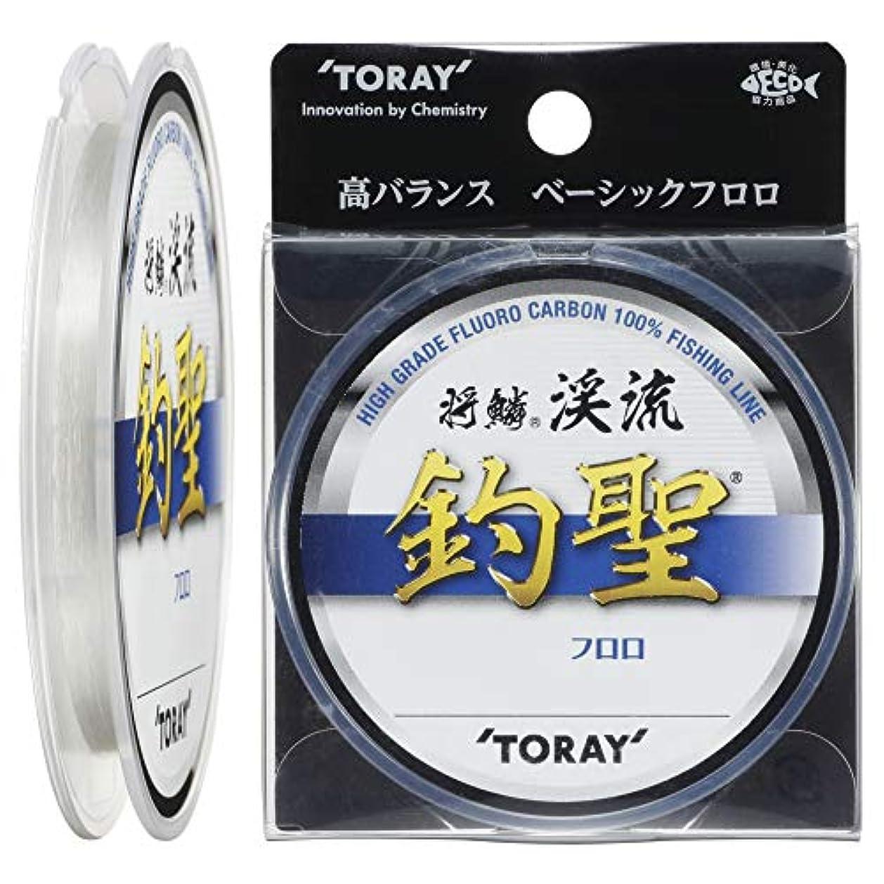 火炎キモい推定東レ(TORAY) ライン 将鱗 渓流 釣聖 50m 0.4号