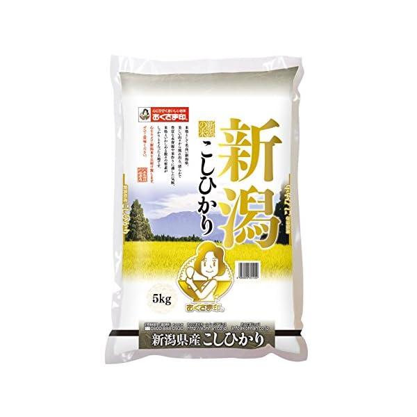 【精米】新潟県産 白米 こしひかりの商品画像