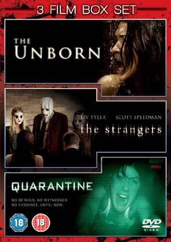 The Unborn/Quarantine/The Strangers [DVD] by Odette Yustman